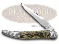 Schatt & Morgan Toothpick Knife Mother of Pearl & Black Lip Pearl 1/50 Pocket