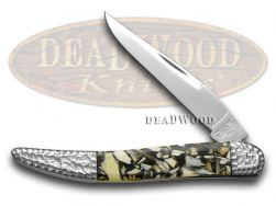 Schatt & Morgan Toothpick Knife Genuine Chipped Tooth Stainless