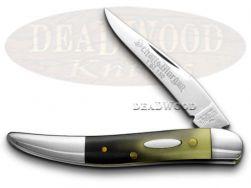 Schatt & Morgan Toothpick Knife Polished Longhorn 1/150 Stainless Pocket