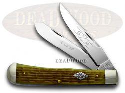 Schatt & Morgan Green Texas Trapper 1/50 Pocket Knife 19TX Knives