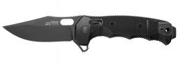 SOG Seal XR Folding Knife Black GRN S35VN Stainless 12-21-02-57 Pocket Knives