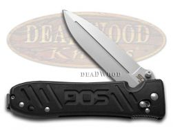 SOG Pent Arc Folding Hunter Knife Black Glass-Reinforced Nylon VG-10 PE15-BX