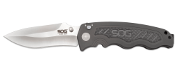 SOG Zoom S30V Knife Grey Aluminum and Carbon Fiber ZM1018-BX Pocket Knives