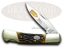 Steel Warrior Barracuda Bone Pocket Knife 100ASC Knives