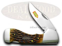 Steel Warrior Lockblade Bone Pocket Knife 105ASC Knives