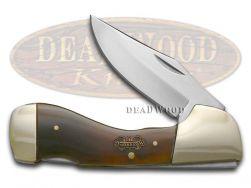 Steel Warrior Choctaw Lockback Knife Smooth Genuine Ox Horn Stainless SW-105OX