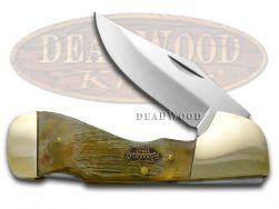 Steel Warrior Genuine Ram Horn Choctaw Lockback Stainless 105RH Pocket Knife
