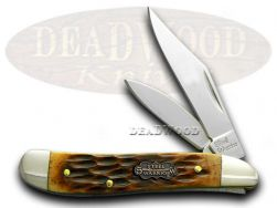 Steel Warrior Peanut Bone Pocket Knife 107ASC Knives
