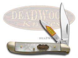 Steel Warrior Peanut Knife Genuine Salt Water Mother of Pearl Pocket SW-107SMOP