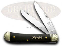 Steel Warrior Trapper Knife Engraved Genuine Buffalo Horn Stainless SW-108CBHE