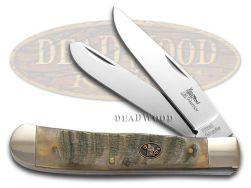 Steel Warrior Ram Horn Trapper Stainless Pocket Knife 108RH Knives