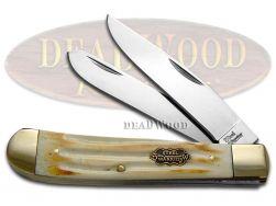 Steel Warrior Trapper Knife Second Cut Bone Stainless Pocket Knives SW-108SC