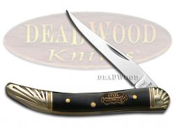 Steel Warrior Toothpick Knife Buffalo Horn Stainless Pocket Knives SW-109CBH