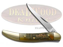 Steel Warrior Toothpick Knife Genuine Ram Horn Stainless Pocket Knives SW-109RH