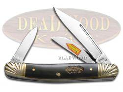 Steel Warrior Wrangler Stockman Knife Genuine Buffalo Horn Stainless SW-112CBH
