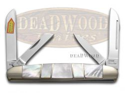 Steel Warrior Congress Knife Mother Of Pearl Stainless Pocket Knives SW-115MOP