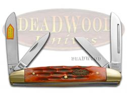 Steel Warrior Congress Knife Red Walnut Bone Stainless Pocket Knives SW-115RWJ