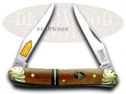 Steel Warrior Muskrat Knife Engraved Mississippi River Bone Stainless SW-122ASB