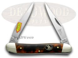 Steel Warrior Muskrat Knife Tortoise Shell Stainless Pocket Knives SW-122ITS