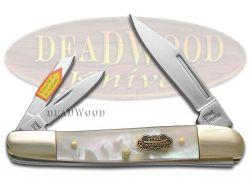 Steel Warrior Whittler Knife Salt Water Mother Of Pearl Stainless SW-152SMOP
