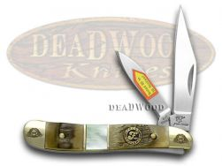 Frost Family Peanut Knife 40th Anniv Ram Horn & Mother of Pearl 1/600 40-107RMR