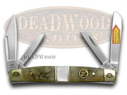 Frost Family Congress Knife 40th Anv Ram Horn & Mother of Pearl 1/600 40-110RMR