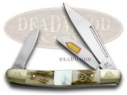 Frost Family Stockman Knife 40th Anv Deer Stag & Mother of Pearl 1/600 40-112SMS