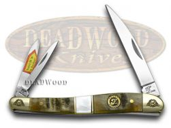 Frost Family Whittler Knife 40th Anv Ram Horn & Mother of Pearl 1/600 40-167RMR