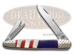 Silverhorse Whittler Knife American Flag Series Stainless SHS-140RWB