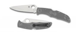 Spyderco Endura 4 Lockback Knife Gray FRN VG-10 Stainless C10FPGY Pocket Knives