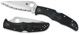 Spyderco Endura 4 Lockback Knife Black FRN VG-10 Stainless C10SBK Pocket Knives