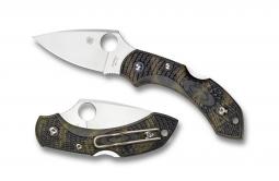Spyderco Dragonfly 2 Lockback Knife Zome Green FRN VG-10 Stainless C28ZFPGR2
