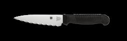 Spyderco Utility Knife Kitchen Cutlery Black Serrated MBS-26 Stainless K05SBK