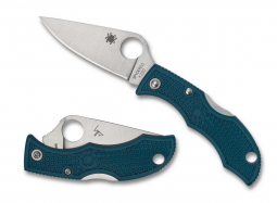 Spyderco Ladybug 3 Lockback Knife Blue FRN K390 Steel LFP3K390 Pocket Knives