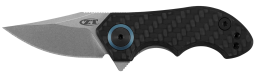 Zero Tolerance Frame Lock Knife Carbon fiber and Titanium 20CV Stainless ZT 0022