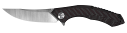 Zero Tolerance Frame Lock Knife Red Carbon Fiber Titanium 20CV Stainless ZT 0462