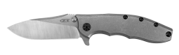 Zero Tolerance 562TI Frame Lock Stonewashed Titanium Stainless Pocket Knife