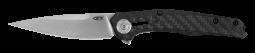 Zero Tolerance 0707 Frame Lock Knife Black Carbon Fiber & Titanium 20CV Steel
