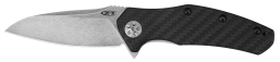 Zero Tolerance Liner Lock Knife Carbon Fiber & S35VN Stainless ZT 0770CF Pocket