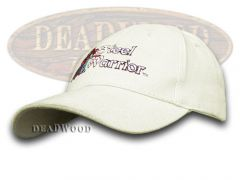 Frost Cutlery Steel Warrior White 100% Cotton Hat Baseball Cap