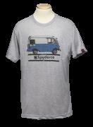 Spyderco T-Shirt Bread Truck Size Small Heather Grey Cotton Blend TSBTS