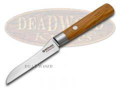 Boker Tree Brand Damascus Kitchen Vegetable Knife Olive Wood 130438DAM