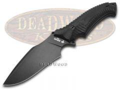 Boker Arbolito Buffalo Soul II Fixed Blade Knife Black Micarta N695 02BA3154