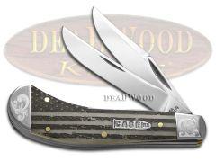 Case xx Saddlehorn Knife U.S. Flag Natural Bone Scrolled 1/200 Pocket Knives