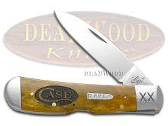 Case xx Tribal Lock Knife Logo Antique Bone 1/500 Stainless Pocket Knives