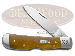 Case xx Tribal Lock Knife Smooth Antique Bone 1/500 Stainless Pocket 11642