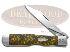 Case xx Cheetah Knife Hummingbird Antique Bone 1/500 Stainless Pocket Knives