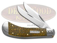 Case xx Saddlehorn Knife Stone Wall Antique Bone Stainless Pocket Knives