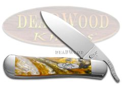 Case xx Russlock Knife Smokey Sunrise Corelon Stainless Pocket Knives 6084 SSR