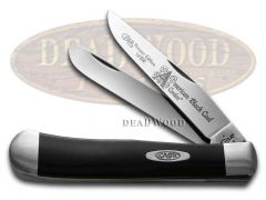 Case xx Trapper Knife America's Black Coal Corelon 1/1200 Stainless 9254ABC